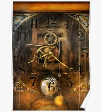 Clockmaker - A sharp looking time piece Poster