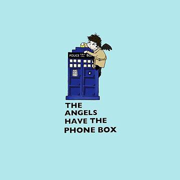 Castiel Has The Phone Box by castialexx