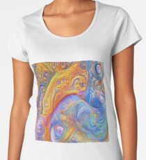 Abstraction #A Premium Scoop T-Shirt