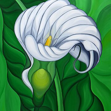 Floral Painting by marinella