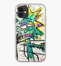 Rick Sanchez Riding Dirty iPhone Case