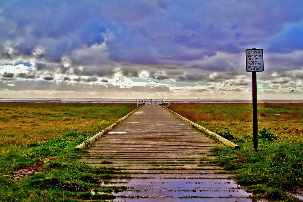 The Jetty - Lytham by Peter Stone