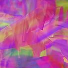 Holographic Glitch Design by Candace Byington