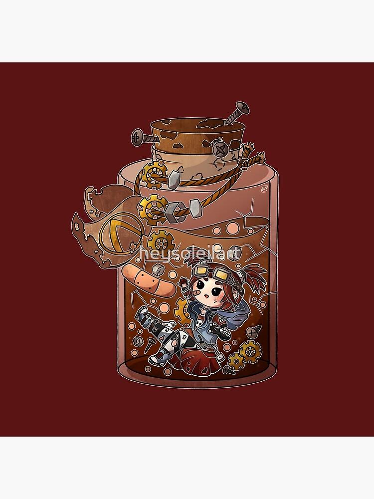 Gaige Potion Bottle by heysoleilart