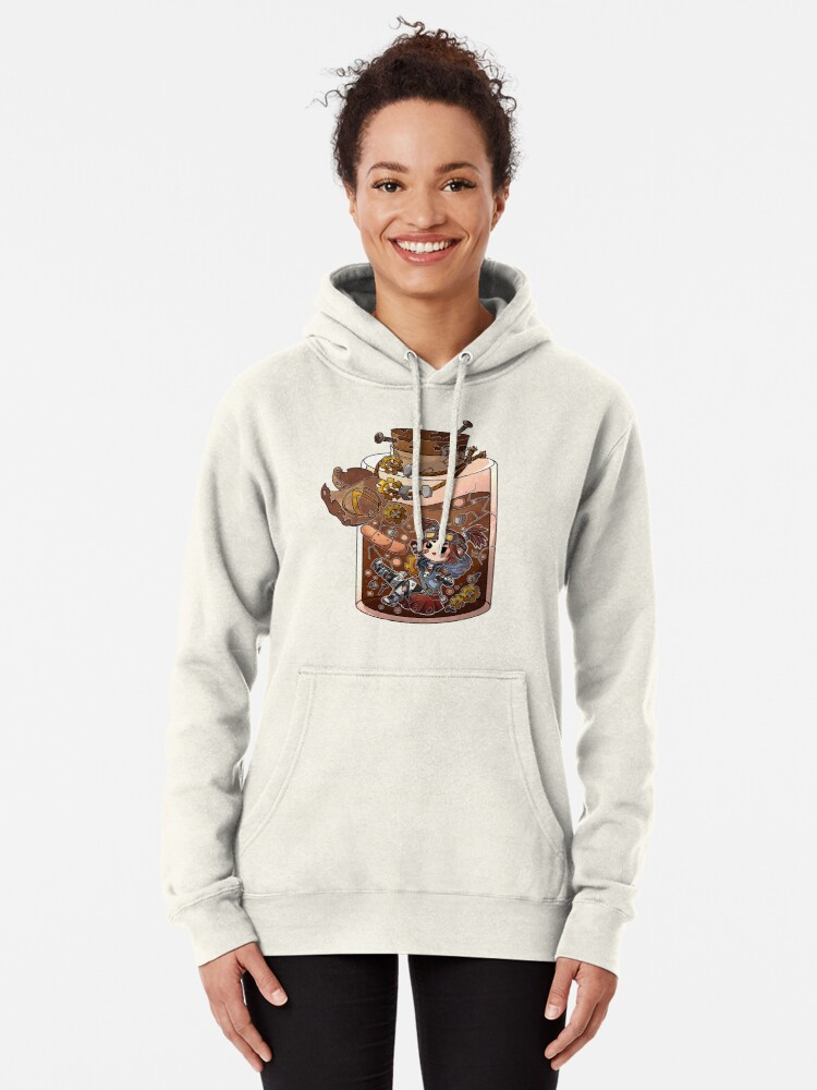 Alternate view of Gaige Potion Bottle Pullover Hoodie