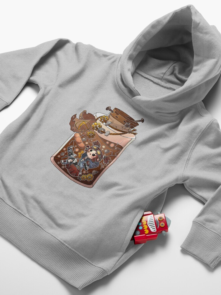 Alternate view of Gaige Potion Bottle Toddler Pullover Hoodie