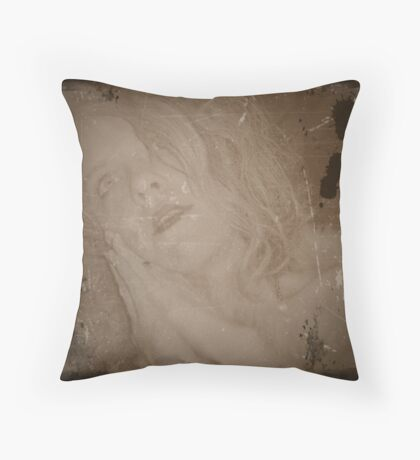 Waiting For Valentino Throw Pillow