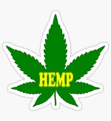 Hemp Sticker