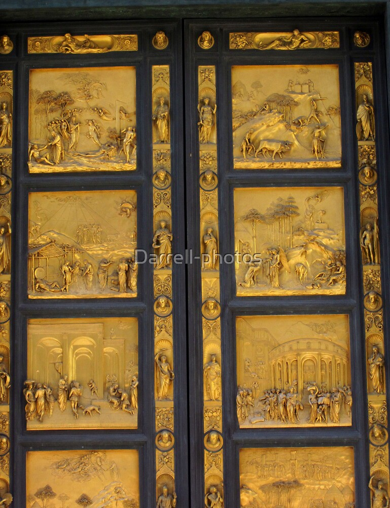 Doors of Europe-Florence 2- Duomo Cathedral by Darrell-photos