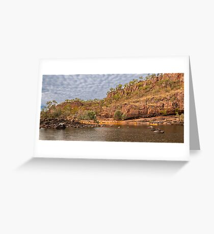 Katherine Gorge, Northern Territory, Australia Greeting Card