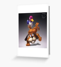 Duck Hunt Greeting Card