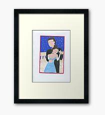 Valentine's Day Romance Framed Print