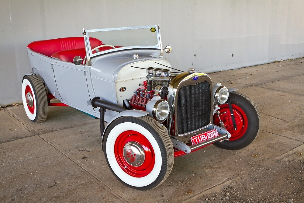 Andrew's 1928 Flathead Ford Tourer by HoskingInd