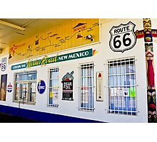 Route 66 Store Front Photographic Print