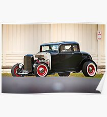 Barry's 1932 Ford 5-Window Coupe Poster