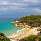 Approaching rain storm, Wilsons Promontory, Victoria. by johnrf