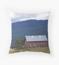 Vey Ranch - Starkey, Oregon Throw Pillow