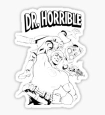 Dr. Horrible's Sing-Along Redbubble Sticker