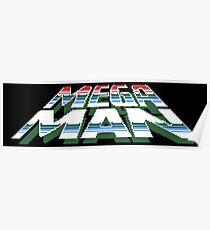 Megaman: Logo Poster