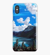 Bob Rossy Peaceful Landscape Painting iPhone Case