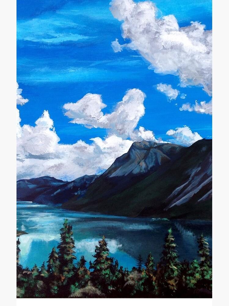 Bob Rossy Peaceful Landscape Painting by mrsconanobrien