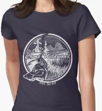 Camp Wildwood Est. 2010 - White Women's Fitted T-Shirt
