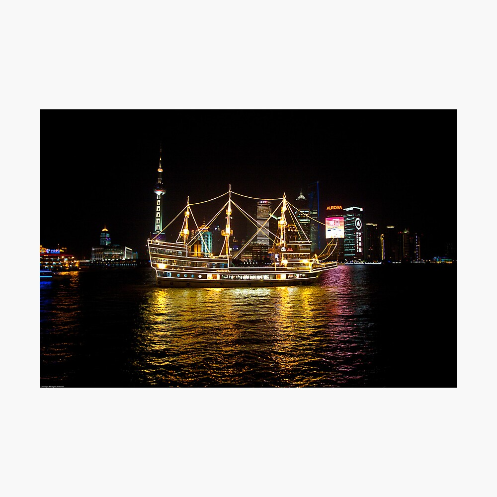 Shanghai Tall Ship Photographic Print