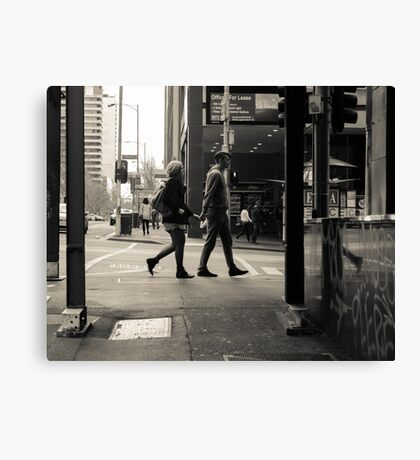 Mirrored Couples Canvas Print