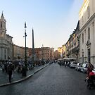 Piazza Navona - pano by Darrell-photos