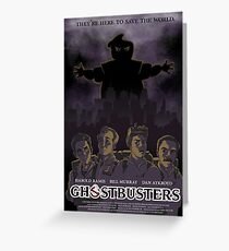 Ghostbusters - Poster Version Greeting Card