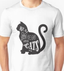 6b2bf0d09675 Echte Männer Haben Katzen  T-Shirts   Redbubble