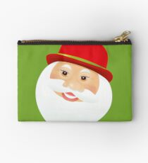 British Santa Claus  Zipper Pouch