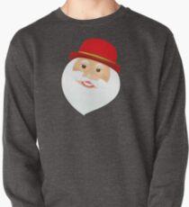 British Santa Claus  Pullover Sweatshirt