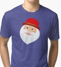 British Santa Claus  Tri-blend T-Shirt