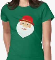 British Santa Claus  Fitted T-Shirt