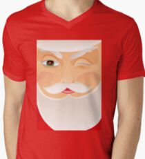 Santa Claus V-Neck T-Shirt