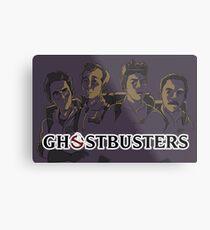 Ghostbusters - Singular Version Metal Print