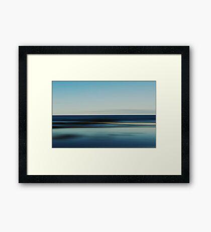 Burnie Beach Framed Print