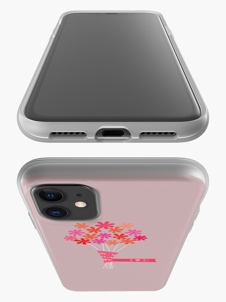 Alternate view of Flowers for You! iPhone Case & Cover