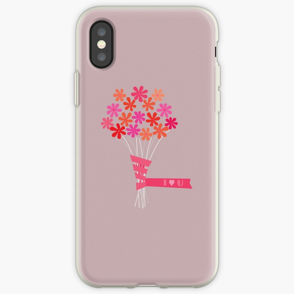 Flowers for You! iPhone Case & Cover