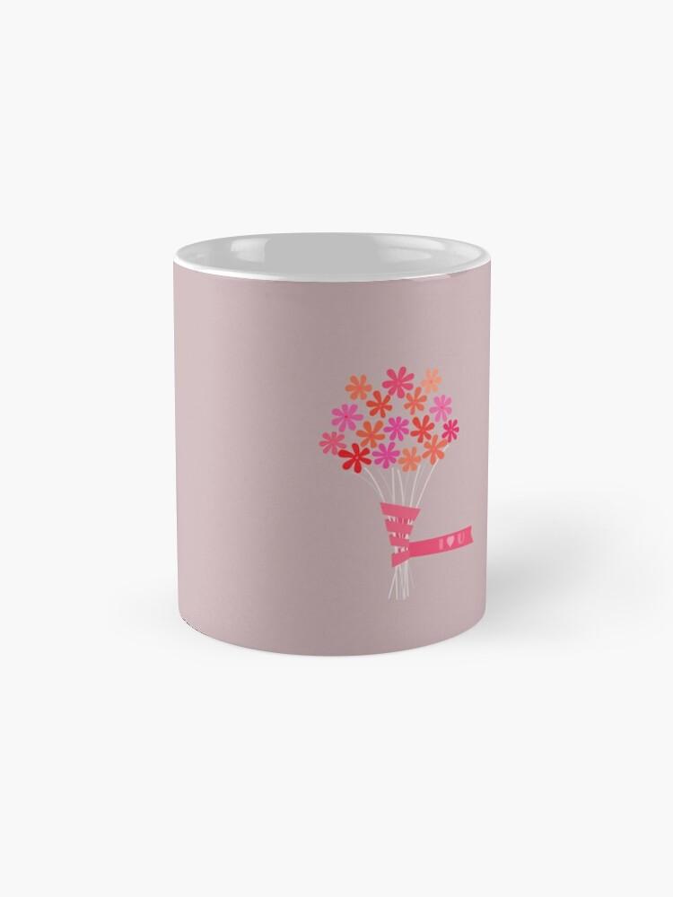 Alternate view of Flowers for You! Mug