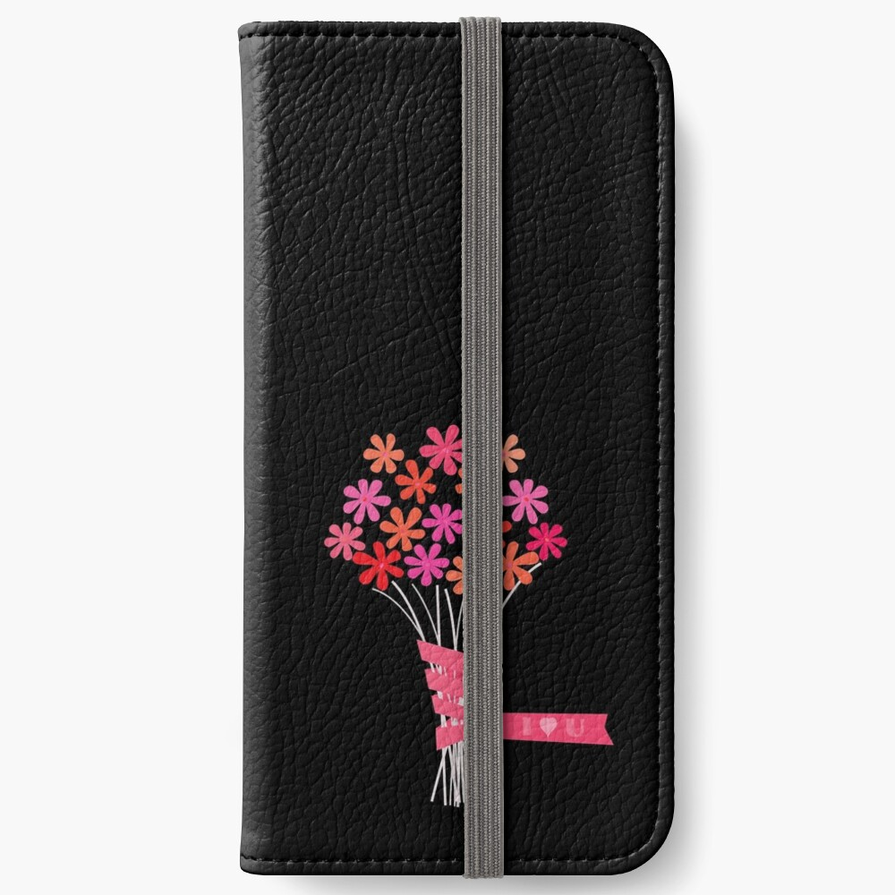 Flowers for You! iPhone Wallet