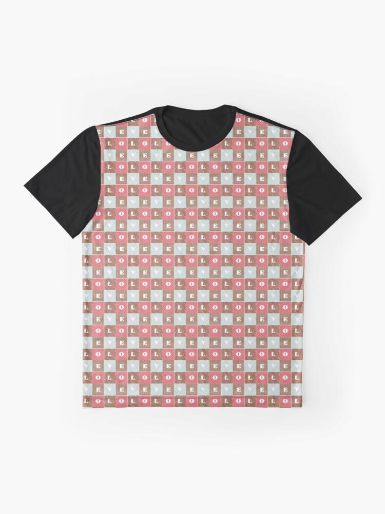 Alternate view of LOVE Graphic T-Shirt