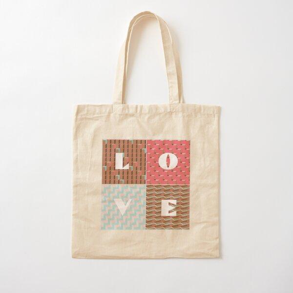 LOVE Cotton Tote Bag