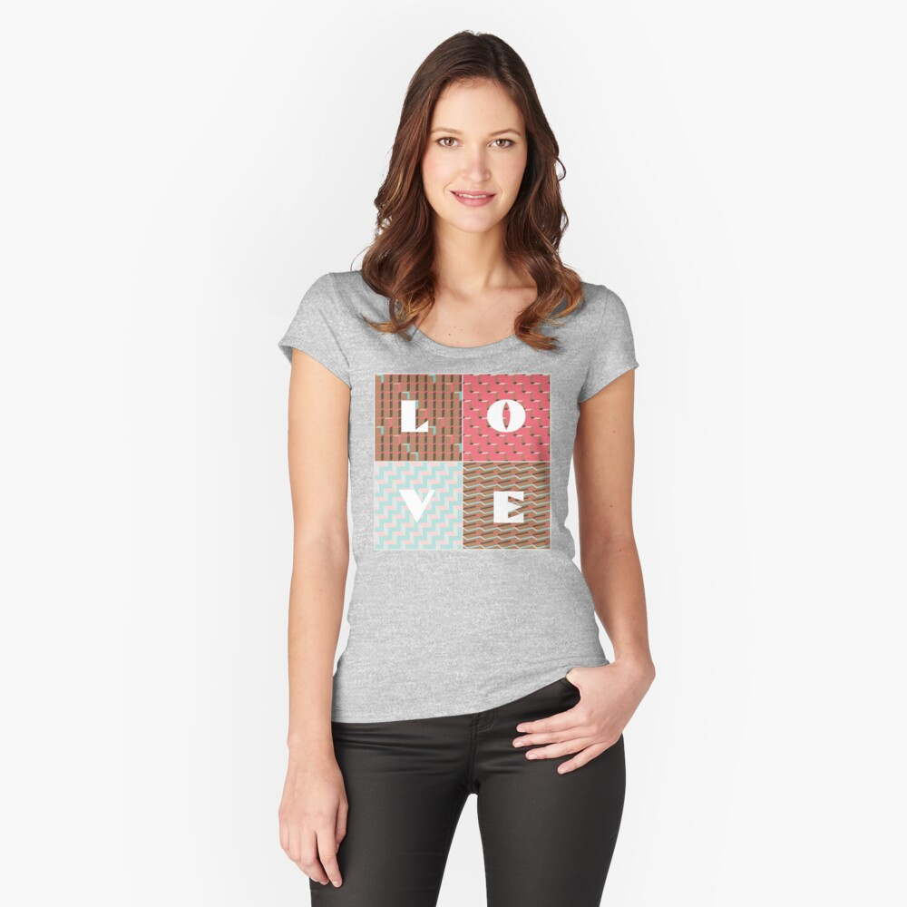 LOVE Fitted Scoop T-Shirt