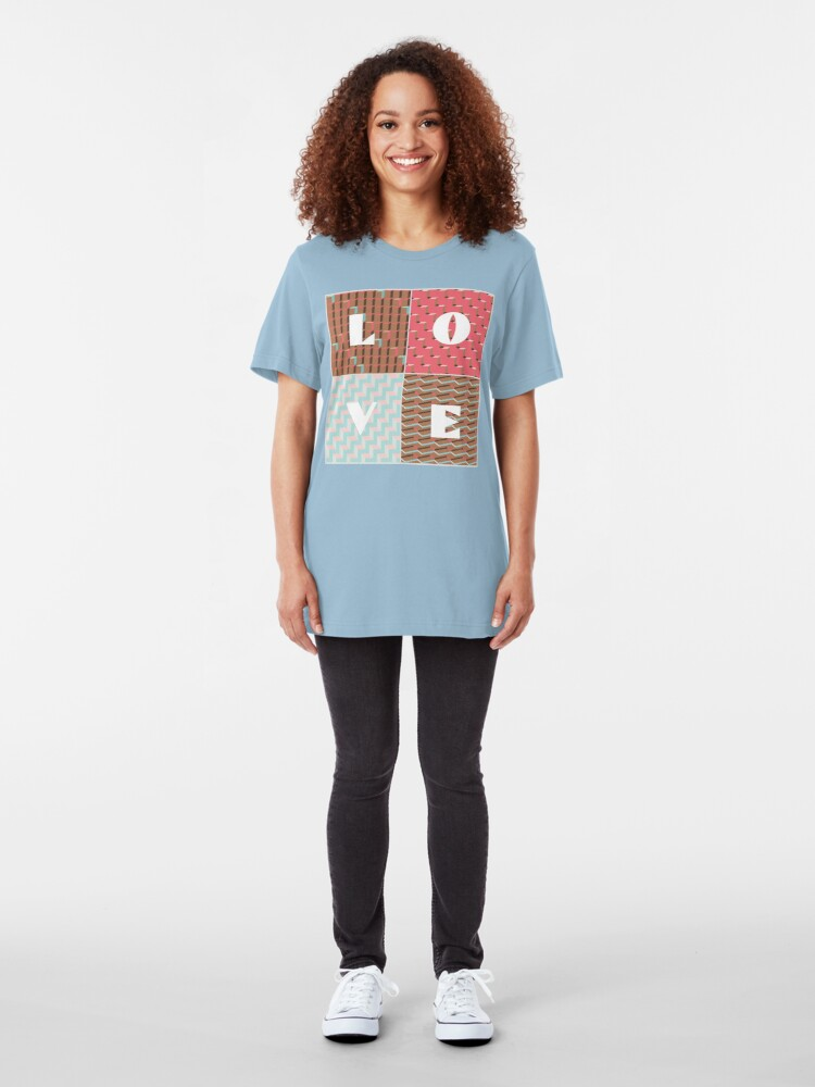 Alternate view of LOVE Slim Fit T-Shirt