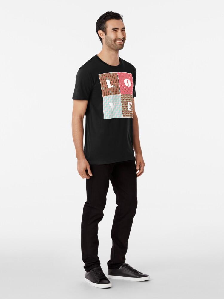 Alternate view of LOVE Premium T-Shirt