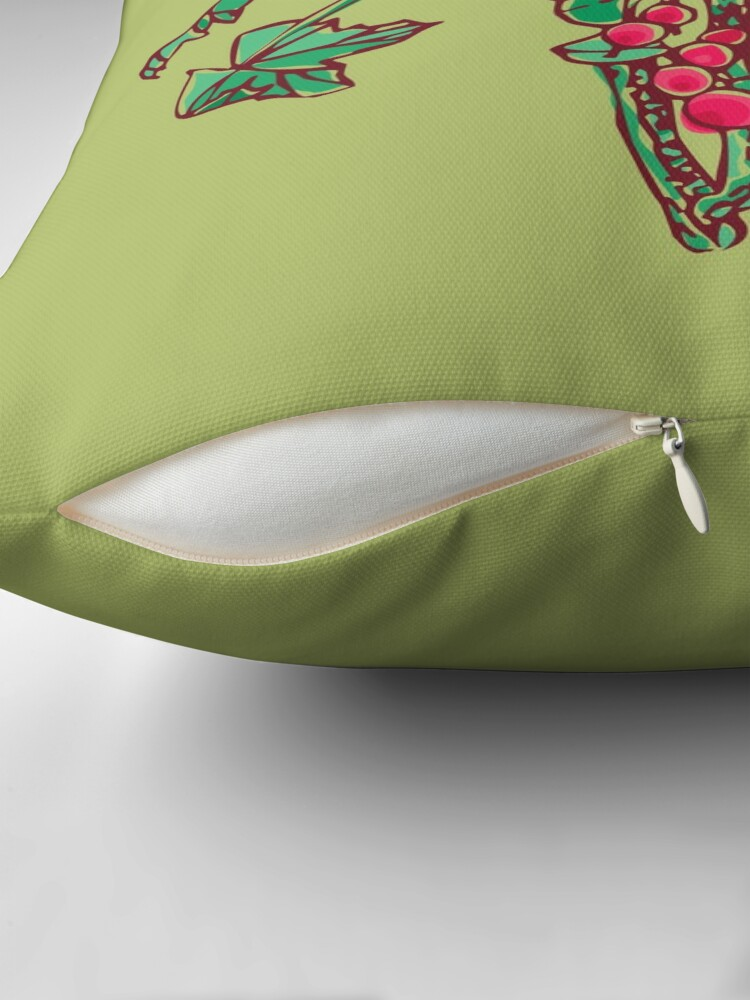 Alternate view of Currant Throw Pillow