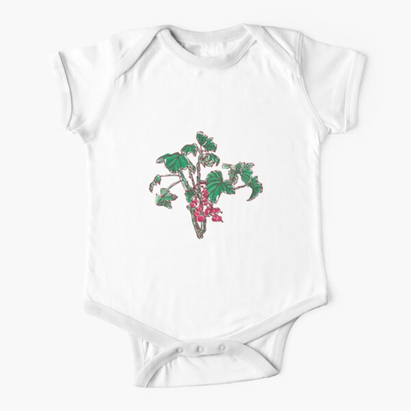 Currant Short Sleeve Baby One-Piece
