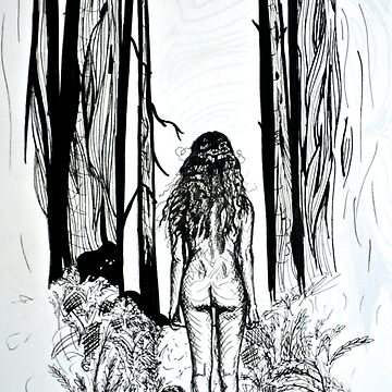 Girl In The Woods by mayavavra